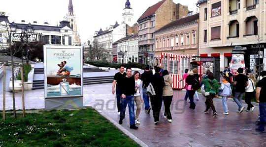 city light bilbord B. CENTAR- SN POZORISTE